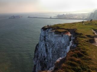 White Cliffs of Dover   Dover England