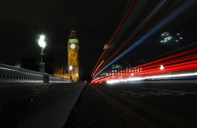 The Palace of Westminster with Elizabeth Tower   London UK