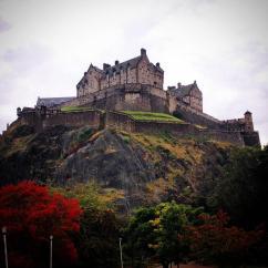 Edingurgh Castle   Scotland UK