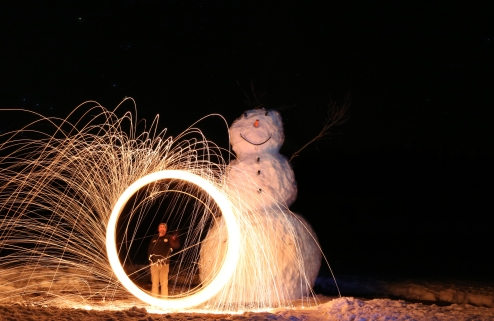 Logan Canyon Snowman