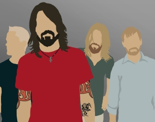 Foo Fighters Drawing