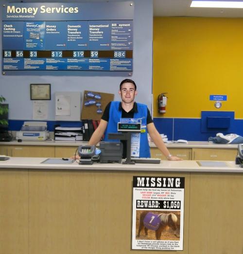 Walmart Counter